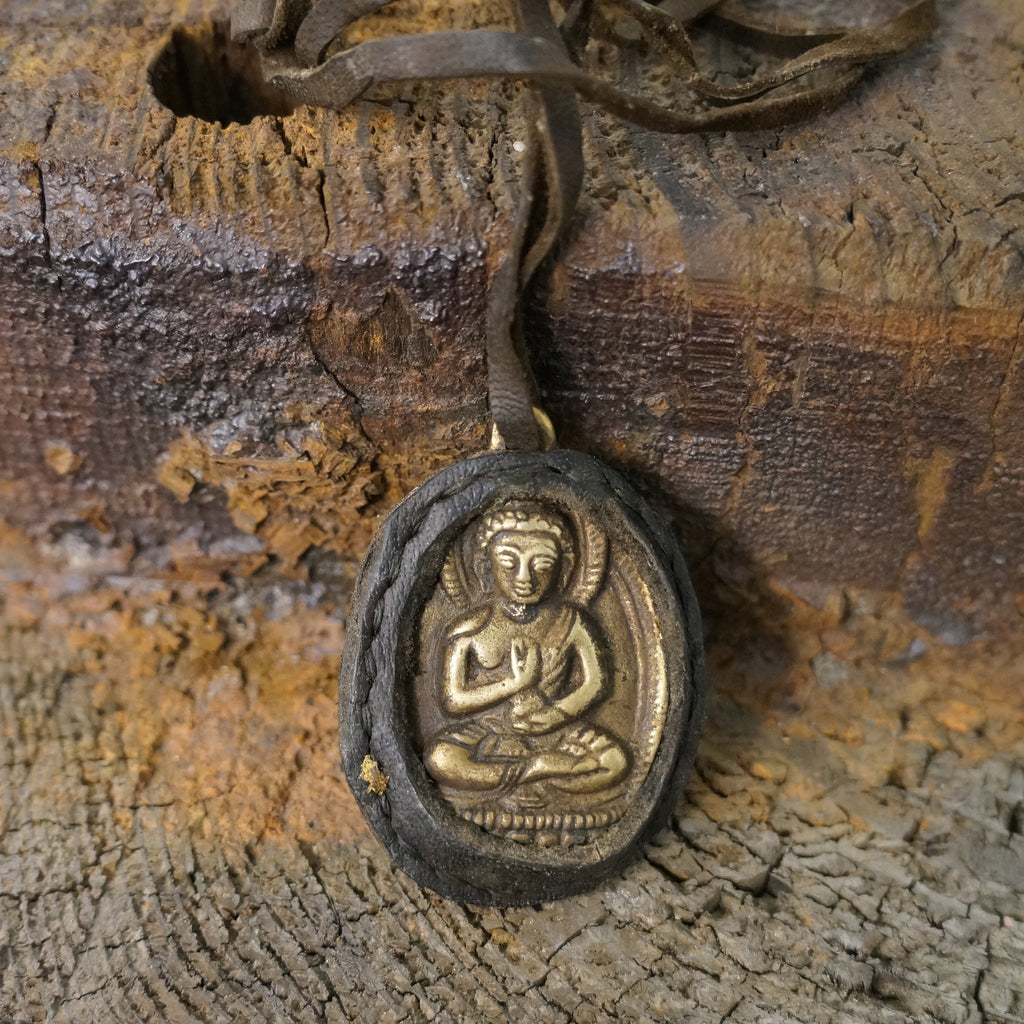 Tibetan Buddha Necklace - Wildflower