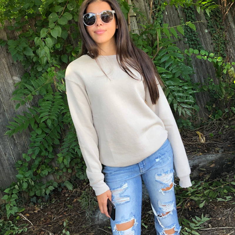 Syd Distressed Sweatshirt