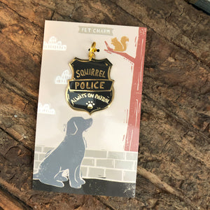 Squirrel Police Tag