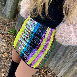 Sequin-Skirt-Holiday-Mini-Stripes