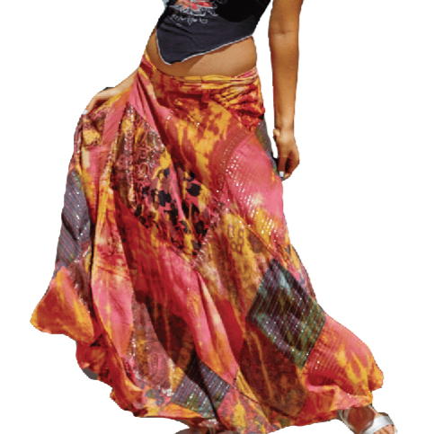 Sunset Wrap Skirt