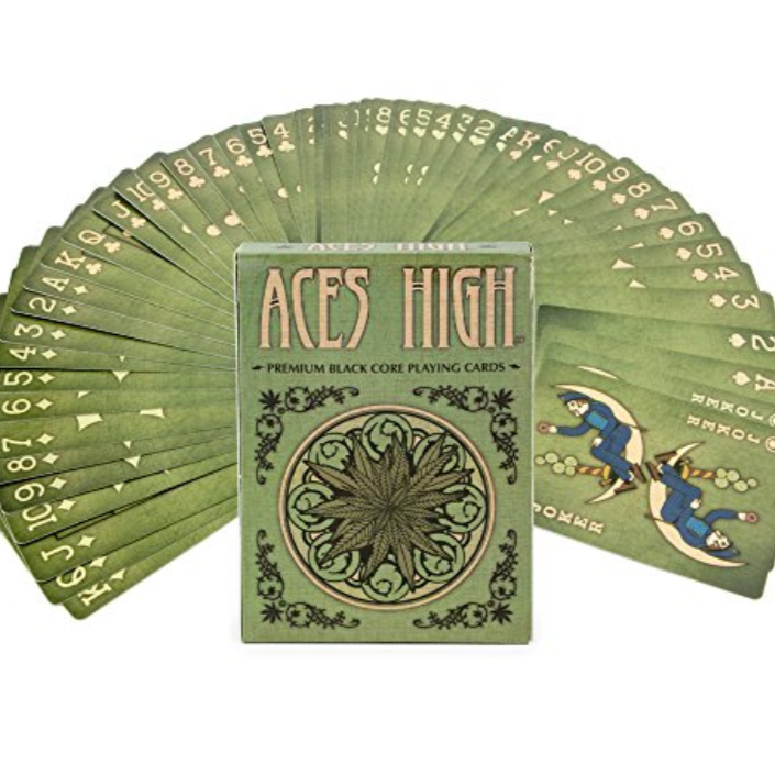 Aces High Playing Cards