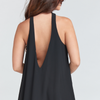 V-Right Back Mini Dress