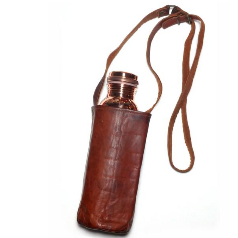 Leather Bottle Carrier