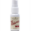 Thieves Spray is a must have for all germaphobes, throw one in your purse, backpack, or luggage - a bottle of Thieves Spray keeps the cooties away!  This 1 oz essential oil infused antibacterial spray can be used to purify surfaces such as doorknobs, handles, toilet seats and more.  It's safe to use around the kiddos, furry family members, and best of all it smells delish!  1 fluid oz.
