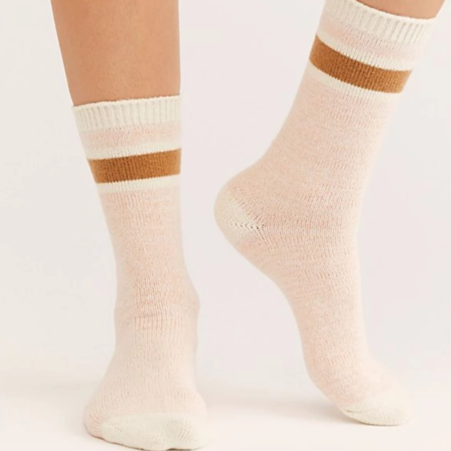 Quincy Cozy Stripe Socks