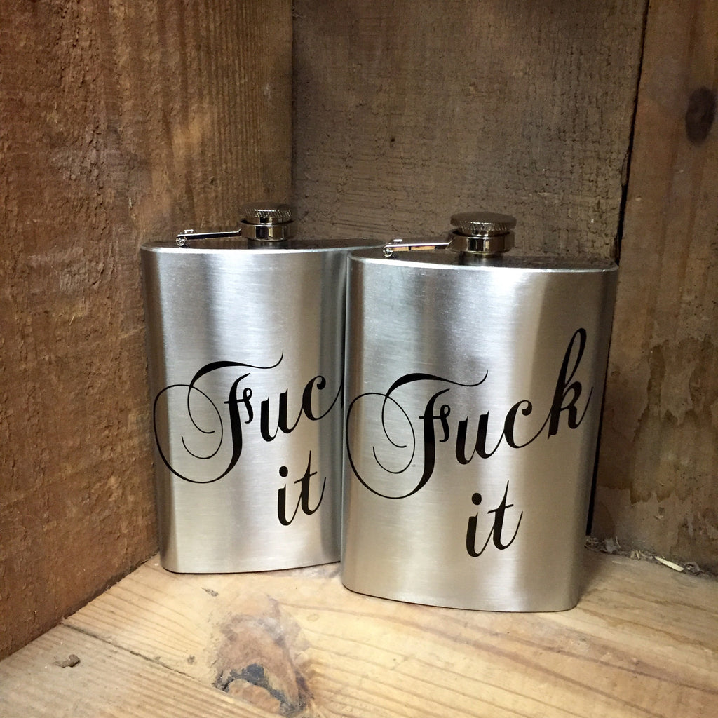 F*ck It Flask - Wildflower