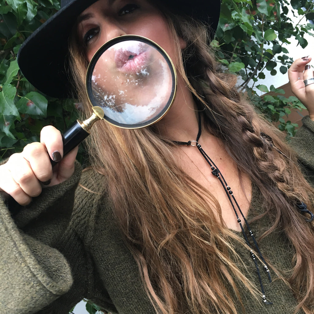 Magnifying Glass - Wildflower