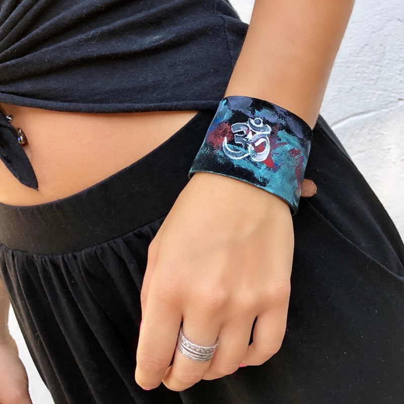 Hand Painted Cuff
