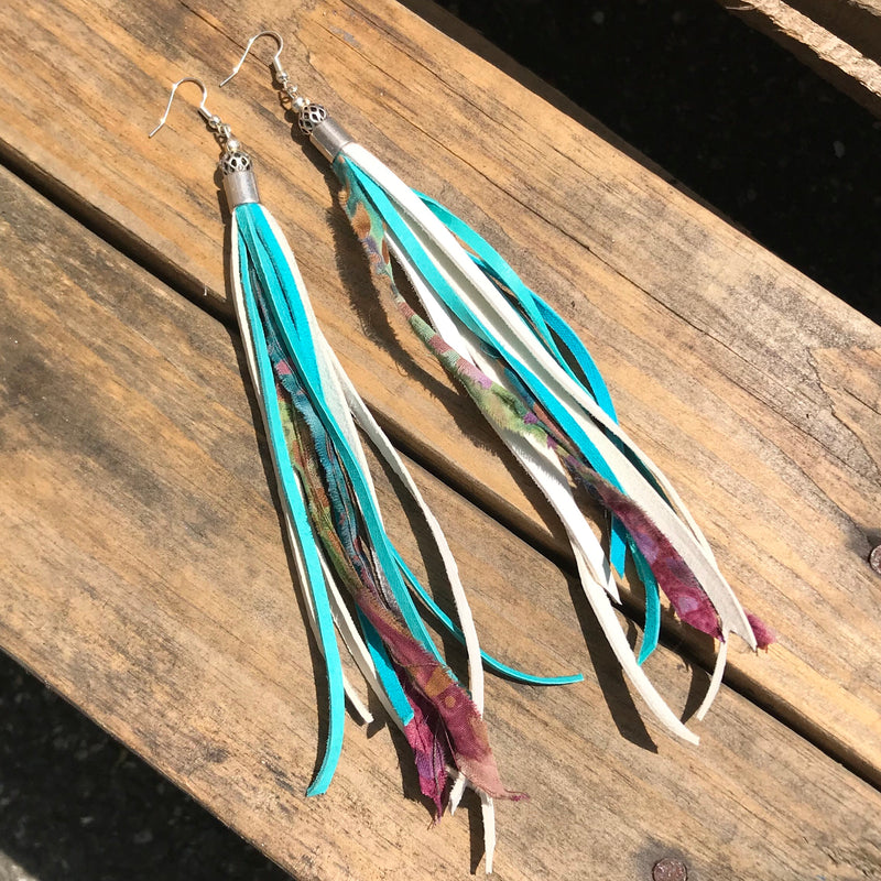 River Fringe Earrings