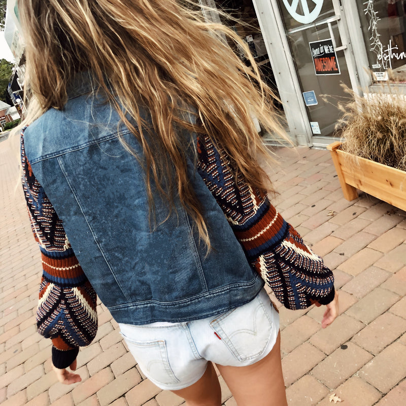 Clover Denim Jacket