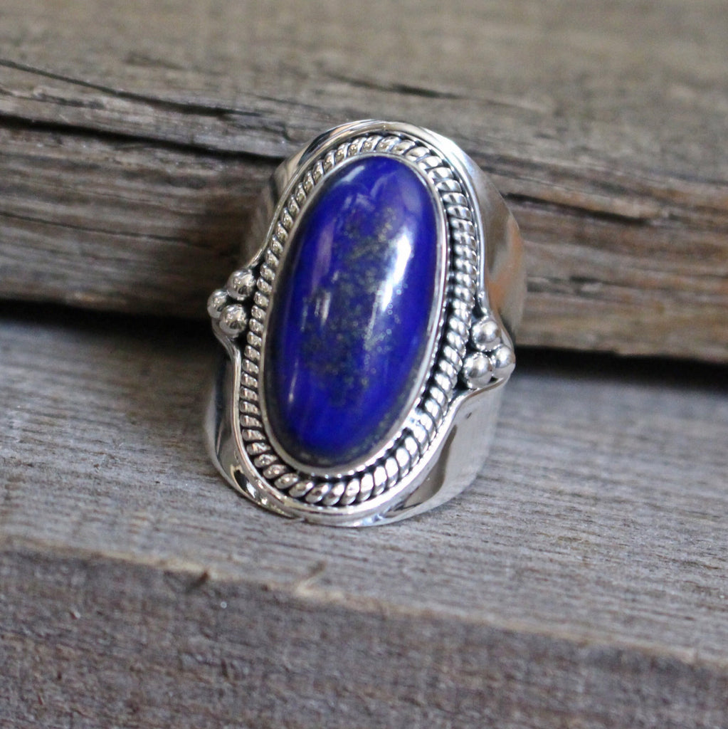 Midnight Sky Ring - Wildflower