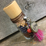 Live Bead Bottle - Neutral - Wildflower
