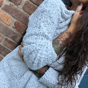 Rain Washed Cozy Sweater
