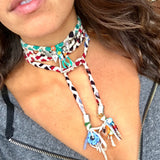 Acai Confetti Wrap Necklace - Wildflower