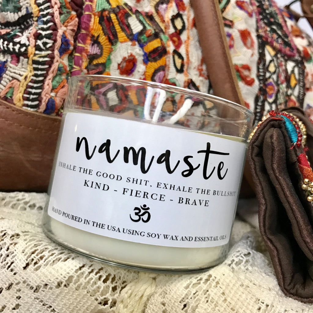 Namaste Candle - Wildflower