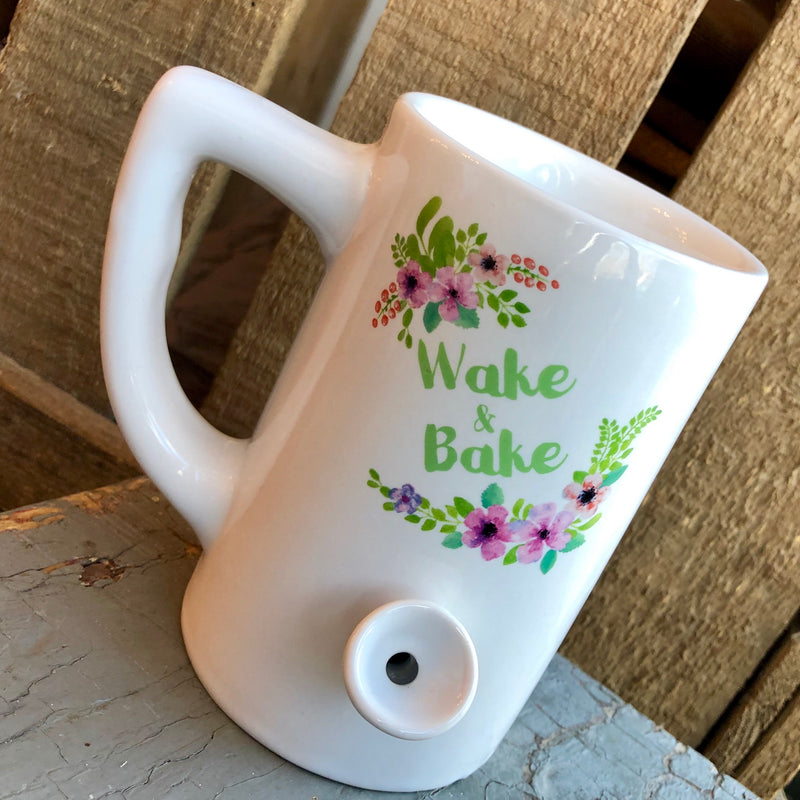 Floral Wake and Bake Mug