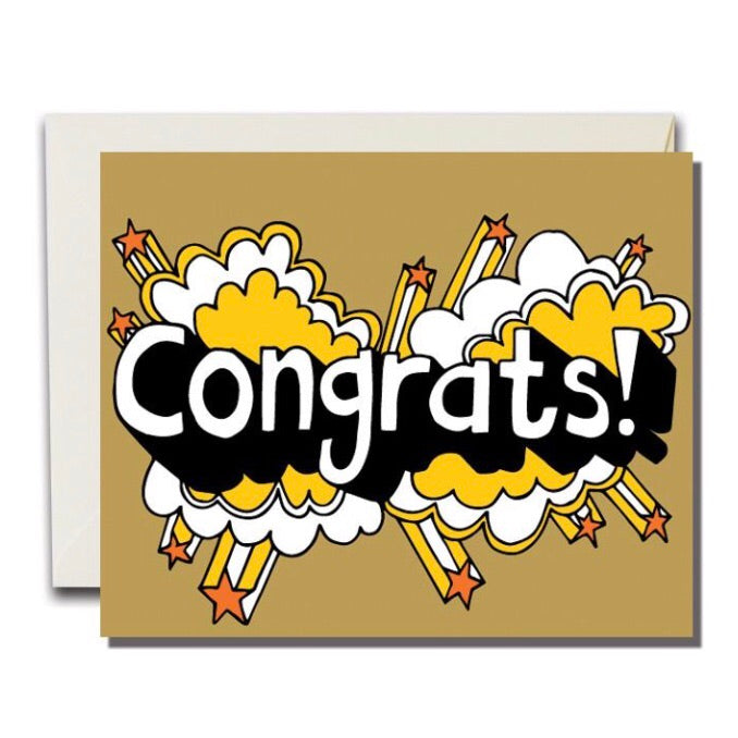 Congrats Card - Wildflower Long Island