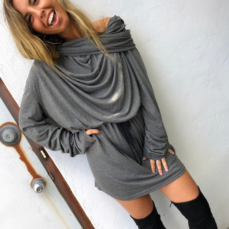 Spice It Up Cowl Tunic