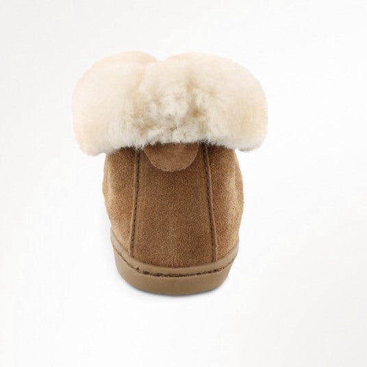 Sheepskin Ankle Slipper - Wildflower