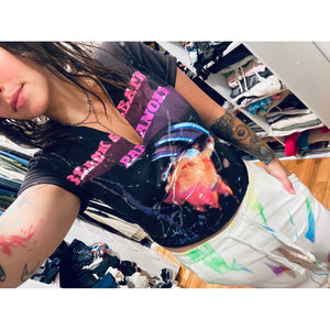 Black Sabbath Paint Splatter Tee