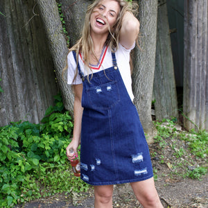 Meadow Denim Overall Skirt