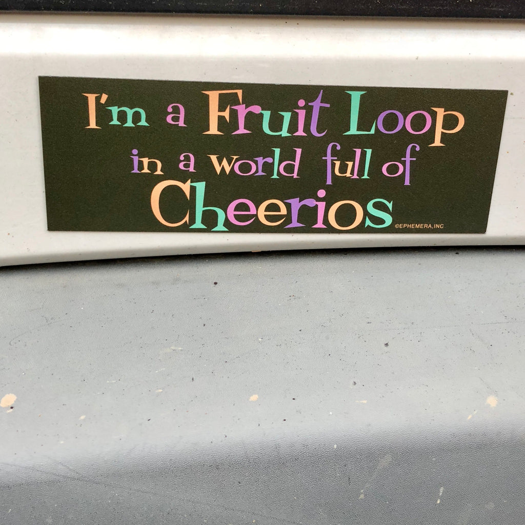 Fruit Loop Magnet