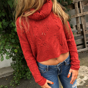 Shades of Dawn Pullover Sweater