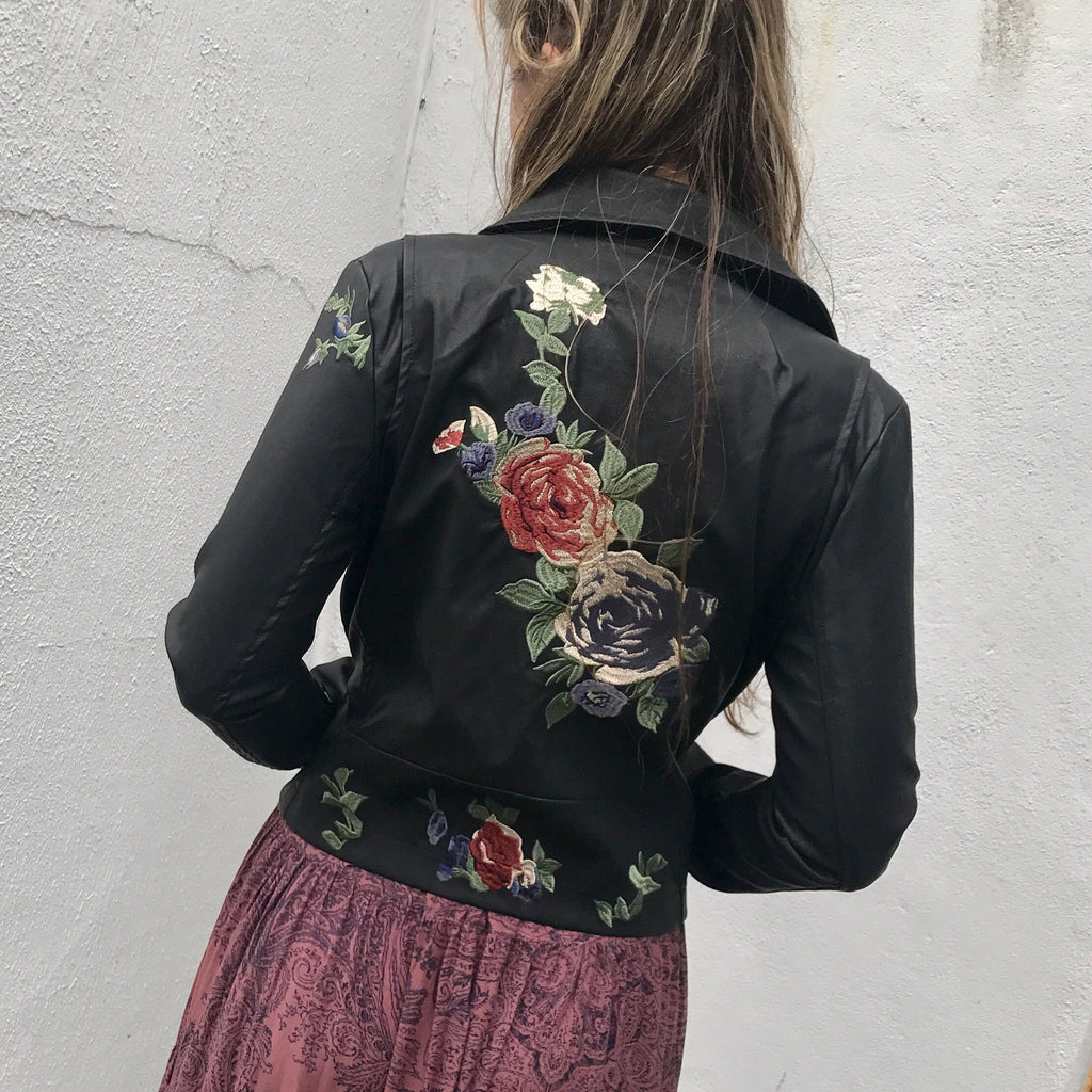 Hype Embroidered Jacket
