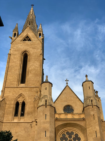 Cathedral in Provence, France