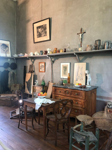 Cezanne's Painting Studio in Provence, France