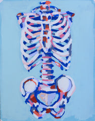 Rattlin' Bones 11x14 SOLD