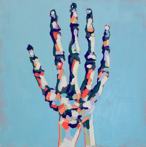 Give Me a Hand 16x16 SOLD