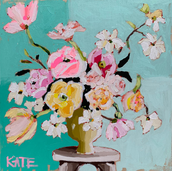 Afternoon with Katie 12x12