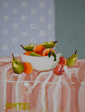 Drenched in Fruit 6x8