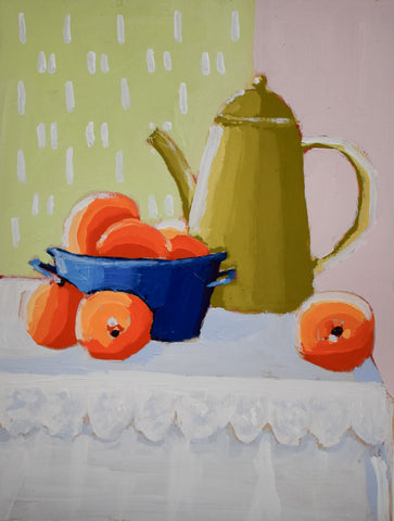 Ginger & Citrus Tea 6x8