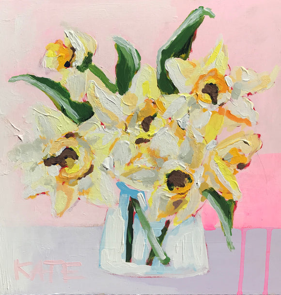 Daffodils from the Hill 12x12