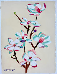 Japanese Magnolia for Mary Helen 15x18