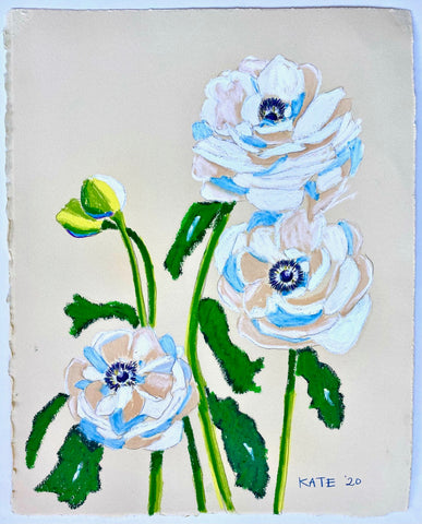 Anemones for Blakely 15x18