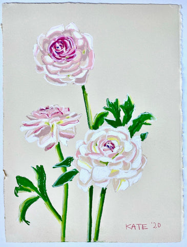 Ranunculus for Helen 15x18