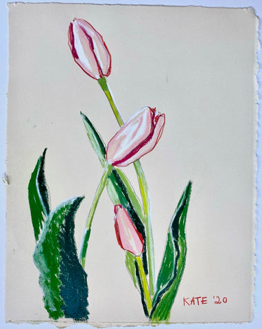 Tulips for Allison 15x18
