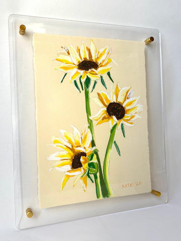 Sunflowers for Katie 15x18