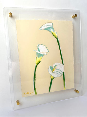Calla Lillies for Meagan 15x18