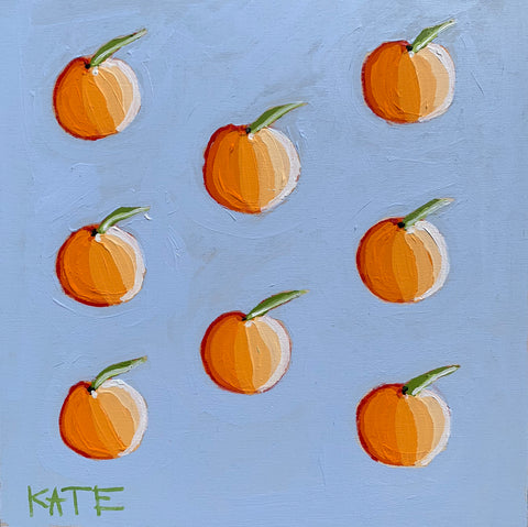 Little bb Oranges 12x12