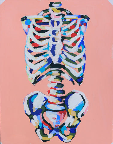 The Colors in My Bones 11x14 SOLD