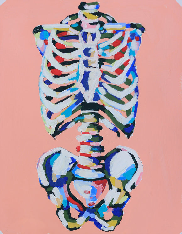 The Colors in My Bones 11x14 SOLD OUT