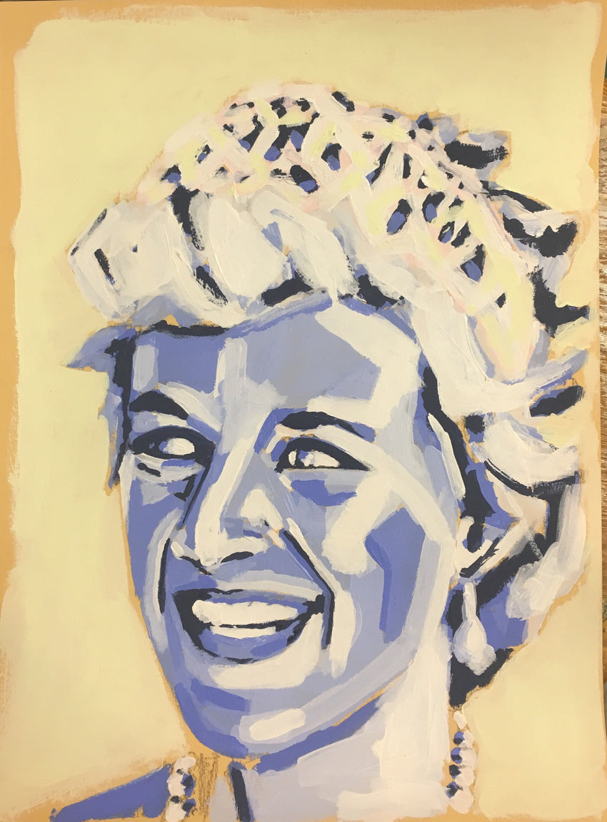 Princess Diana 9x12 SOLD