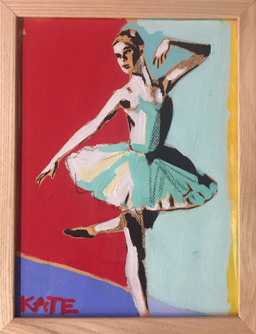 A Graceful Prance 9x12