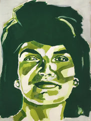 Jackie O 9x12 SOLD