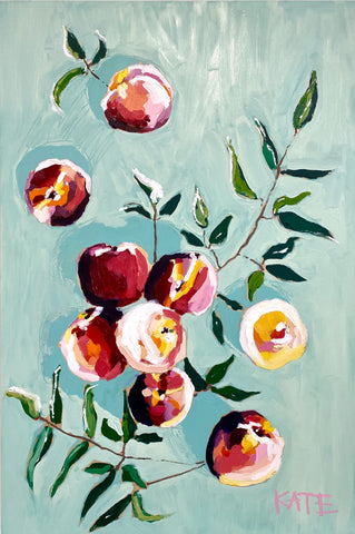 Georgia Peaches 20x30